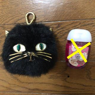 バスアンドボディーワークス(Bath & Body Works)のBath & Body Works  黒猫 ホルダー(アルコールグッズ)