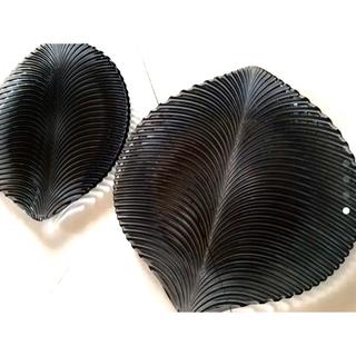 ナハトマン(Nachtmann)のナハトマン  マンボ 約34x33cm ブラック 2枚セット(食器)