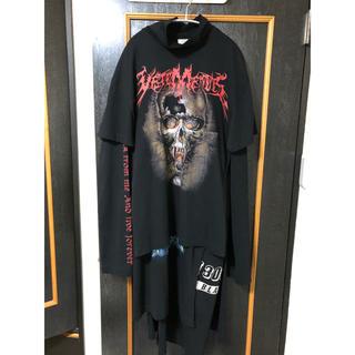 vetements 16aw スカルレイヤードドレス(Tシャツ/カットソー(七分/長袖))