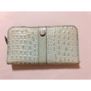フルラ(Furla)の長財布 型押しクロコ柄(長財布)