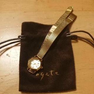 アガット(agete)のにゃーご様専用 アガット 腕時計 agete(腕時計)