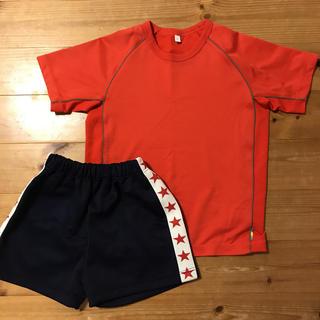ユニクロ(UNIQLO)の体操着 ハーフパンツ 短パン Tシャツ140サイズセット(その他)