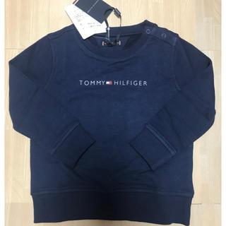 TOMMY HILFIGER - 【国内正規品】 トミーヒルフィガー トレーナー ネイビー