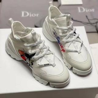 ディズニー(Disney)の日本非売品 Disney x Dior レディース 白い スニーカー 24(スニーカー)