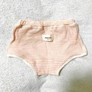 未使用 mutter 女の子 パンツ 100サイズ オーガニックコットン