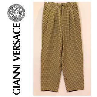 ジャンニヴェルサーチ(Gianni Versace)のGianniVersace シルク100%ズボン【美品】(その他)