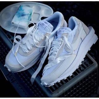 ナイキ(NIKE)のSacai × Nike LDWaffle white 27cm 新品未使用(スニーカー)