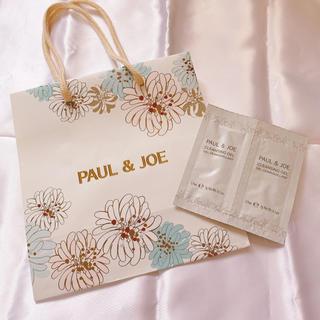 ポールアンドジョー(PAUL & JOE)の【ショッパー】ポールアンドジョー ショップ袋 クレンジング ジェル(クレンジング/メイク落とし)