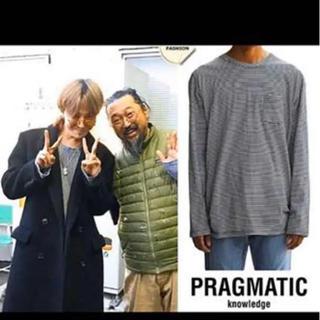 ピースマイナスワン(PEACEMINUSONE)のpragmatic ボーダーカットソー(Tシャツ/カットソー(七分/長袖))