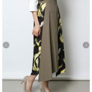 新品タグ付き★定価13800円 グランターブル ペイント ロングスカート