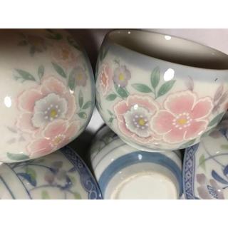 タチキチ(たち吉)の【美品】ブルー系2種類の湯のみ6点セット(食器)