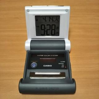 カシオ(CASIO)の電波時計 waveceptor    置時計  CASIO(置時計)
