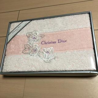 クリスチャンディオール(Christian Dior)のクリスチャン・ディオール 新品バスタオル【更に値下げ】(タオル/バス用品)