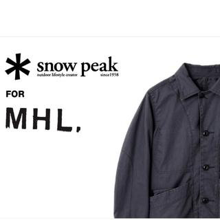 マーガレットハウエル(MARGARET HOWELL)のSnow Peak for MHL TAKIBIセットアップ(カバーオール)