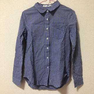ウーム(WOmB)のウーム ギンガムチェック チェックシャツ(シャツ/ブラウス(長袖/七分))