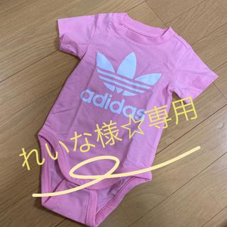 アディダス(adidas)のadidas 80cmロンパース(ロンパース)