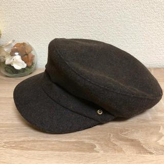 シマムラ(しまむら)のブラウンキャスケット新品(キャスケット)