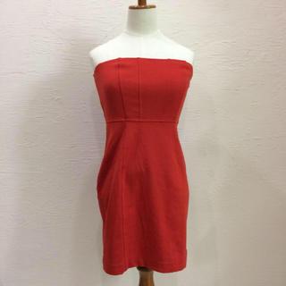 ZARA - ベアワンピースドレス キャバ ブライダル