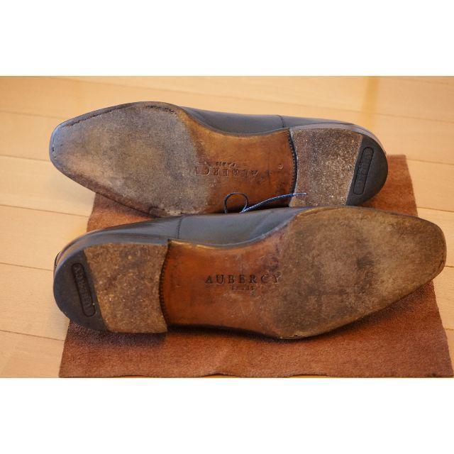 AUBERCY(オーベルシー)のAUBERCY Swann 革靴 Size 8 / 26.5~cm位  メンズの靴/シューズ(ドレス/ビジネス)の商品写真