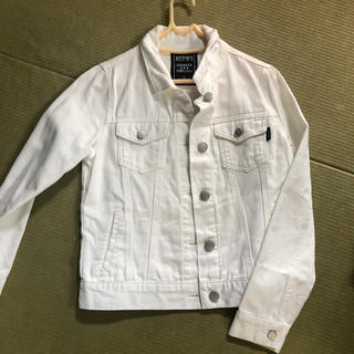 repipi armario - レピピ デニムジャケット S ホワイトデニム ジージャン