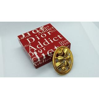 クリスチャンディオール(Christian Dior)のDior ディオール パフューム ヴィンテージ ゴールドブローチ 香水(ブローチ/コサージュ)