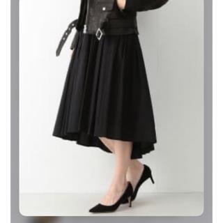 デミルクスビームス(Demi-Luxe BEAMS)のDemi-Luxe BEAMS タイプライター ギャザースカート(ひざ丈スカート)