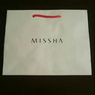ミシャ(MISSHA)のMISSHAの紙袋(ショップ袋)