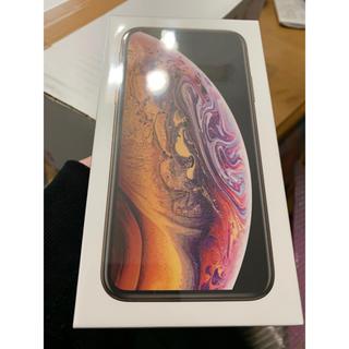 アイフォーン(iPhone)の iPhone Xs 256GB Gold Simフリー(スマートフォン本体)