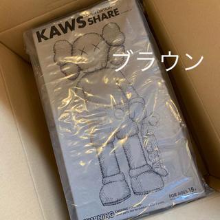 メディコムトイ(MEDICOM TOY)の新品】KAWS SHARE フィギュア ブラウン(その他)