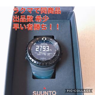 スント(SUUNTO)の新品・未使用・値下げ)SUUNTO コア オールブラック SS014279010(登山用品)
