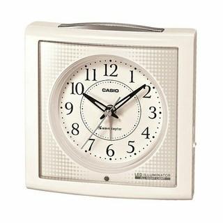 カシオ(CASIO)の新品 CASIO電波時計 (目覚まし時計)(置時計)