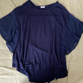 ユニクロ(UNIQLO)のトップス カットソー(カットソー(半袖/袖なし))