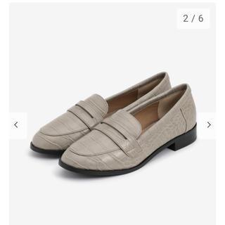 プラステ(PLST)のPLST エコレザーローファー (ローファー/革靴)