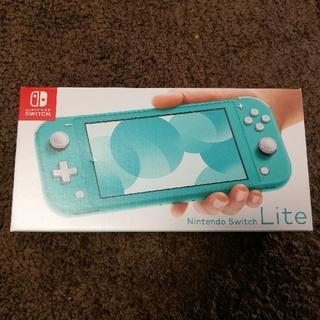 ニンテンドースイッチ(Nintendo Switch)のニンテンドースイッチ ライト 本体 Switch Lite ターコイズ(携帯用ゲーム機本体)