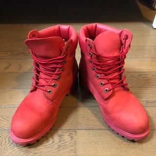 Timberland - ティンバーランド all red