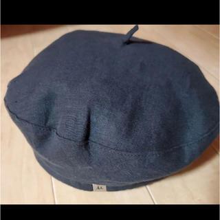 ミラオーウェン(Mila Owen)のミラオーウェン  リネン ベレー帽  Mila Owen(ハンチング/ベレー帽)