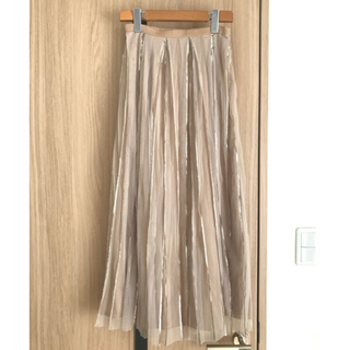 フレイアイディー(FRAY I.D)のCELFORD セルフォード 箔プリーツスカート(ロングスカート)