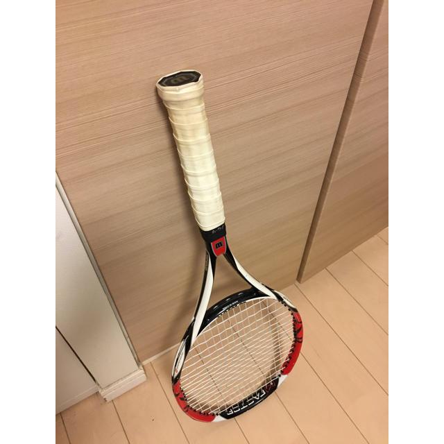wilson(ウィルソン)のガット&工賃込み ウィルソン シックスワン 95 スポーツ/アウトドアのテニス(ラケット)の商品写真