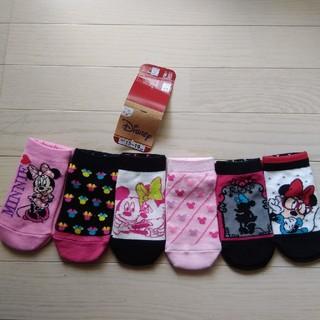 フクスケ(fukuske)の【ディズニー×福助】 ソックス キッズ靴下 6足セット   ⭐️ディズニー 靴下(靴下/タイツ)