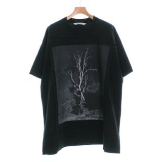 ジョンローレンスサリバン(JOHN LAWRENCE SULLIVAN)の美品 ジョンローレンスサリバン M 黒 Tシャツ 20SS 定価24,200円(Tシャツ/カットソー(半袖/袖なし))