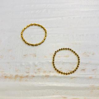オーロラグラン(AURORA GRAN)のオーロラグラン リング2個セット(リング(指輪))