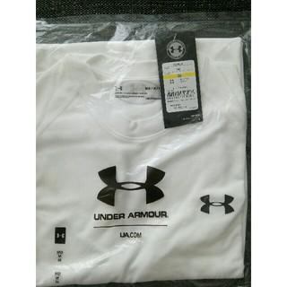 アンダーアーマー(UNDER ARMOUR)のアンダーアーマー 白トレーニングウェアTシャツ(トレーニング用品)