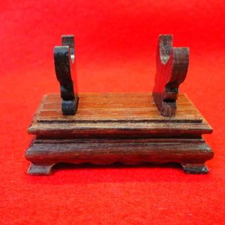 ◆天珠展示用 木製台座 チベットのパワーストーン 西蔵天珠◆◇(ブレスレット/バングル)