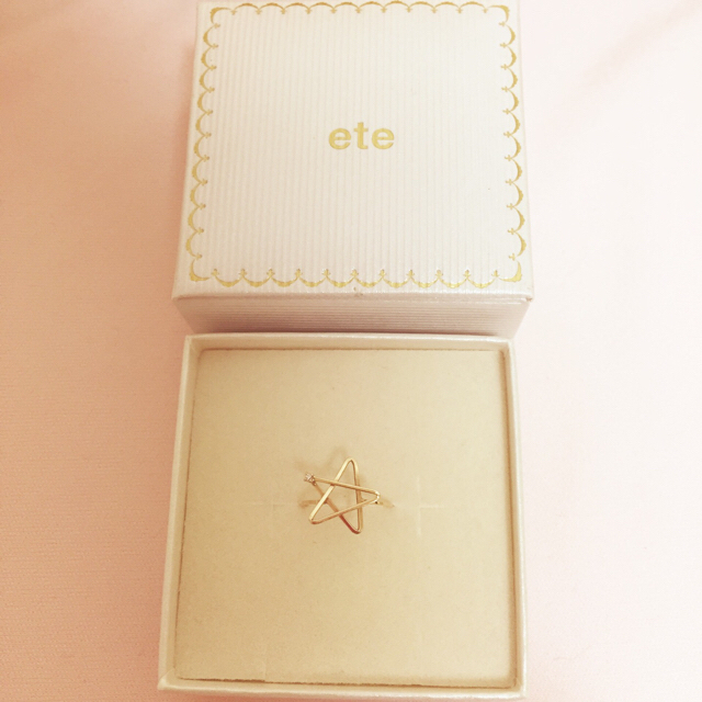 ete(エテ)の最終値下げ eteピンキーリング レディースのアクセサリー(リング(指輪))の商品写真