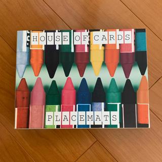 イームズ(EAMES)のイームズ HOUSE OF CARDS プレイスマット(置物)