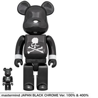 メディコムトイ(MEDICOM TOY)のBE@RBRICK mastermind JAPAN 100+400セット 黒(その他)
