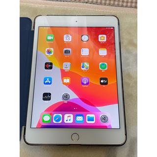 アイパッド(iPad)のiPad mini4 128GB 金 Wi-Fi Cellular SIMフリー(タブレット)