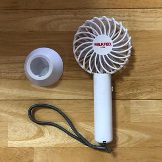ミルクフェド(MILKFED.)のミルクフェド ハンディ ファン(扇風機)