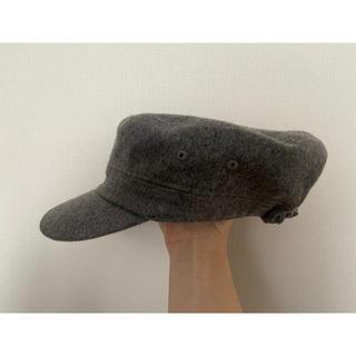 シマムラ(しまむら)のマリン帽子(キャスケット)