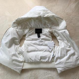 ダブルスタンダードクロージング(DOUBLE STANDARD CLOTHING)のダブルスタンダードクロージング ホワイト ダウンベスト(ダウンベスト)